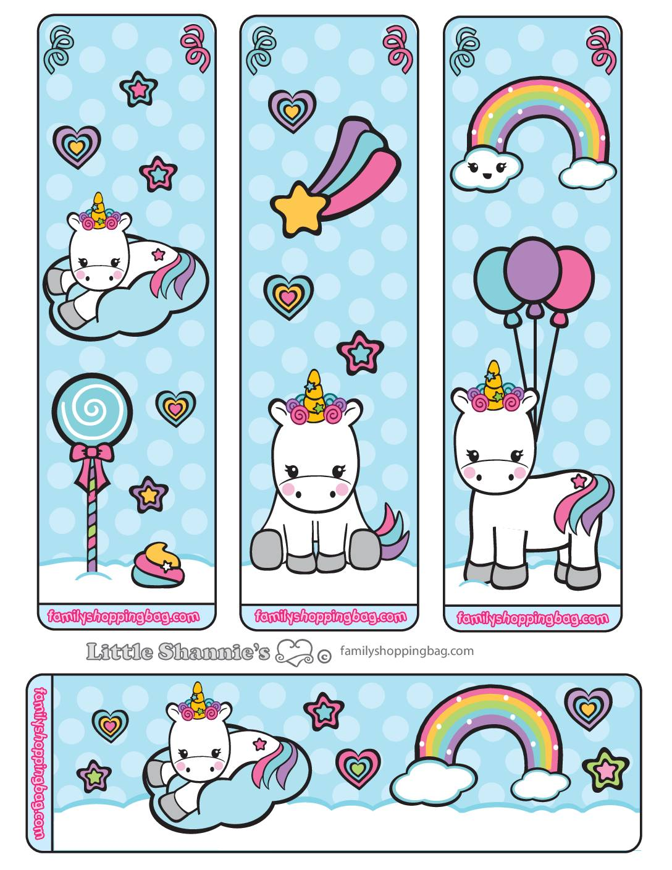 Bookmarks Unicorn
