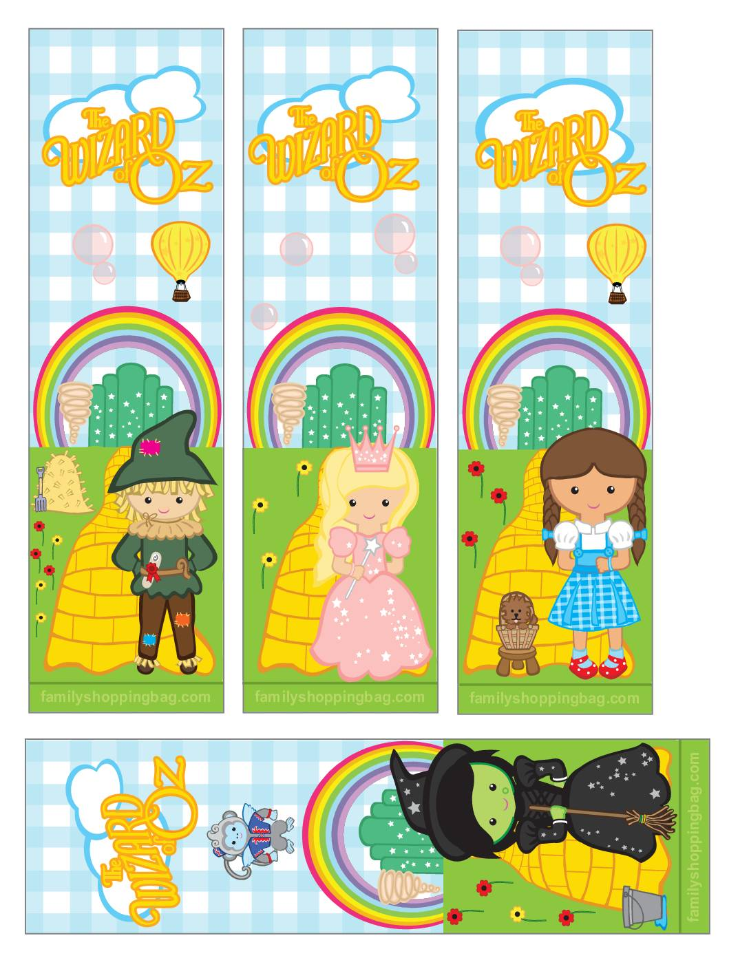 Bookmarks Wizard of Oz