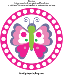 Butterfly Wall Decoration 2
