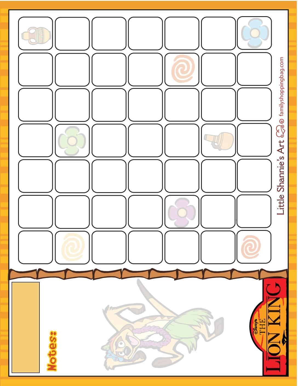 Calendar Lion King