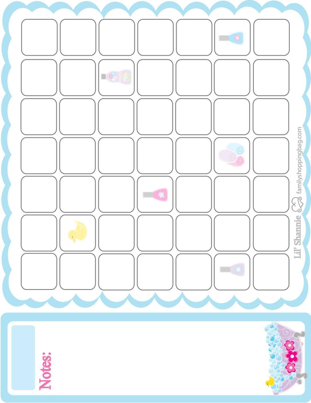 Calendar Moms Spa Day