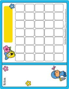 Calendar Pocoyo