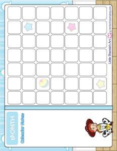 Calendar Toy Story