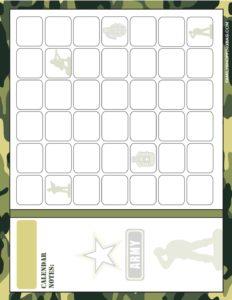Calendar army