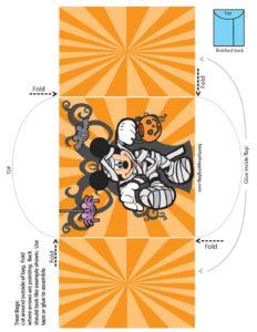 Candy Bag Mickey Halloween