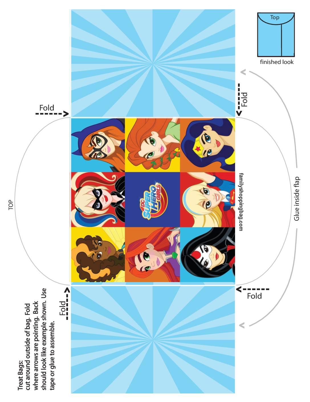 Candy Envelope DC Super Hero Girls