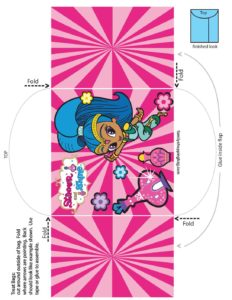 Candy Envelope Shimmer