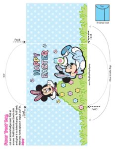Candy Pouch Mickey Mouse Easter