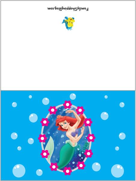 CardLittle Mermaid