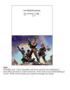 Card Fortnite