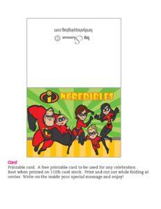 Card Incredibles