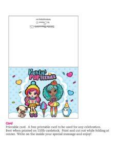 Card Party Pop Teenies