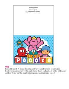 Card Pocoyo
