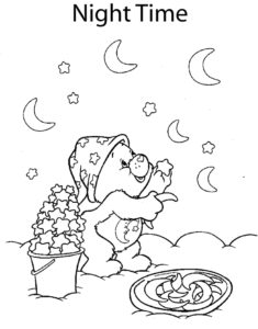 Care Bear Moon and Stars