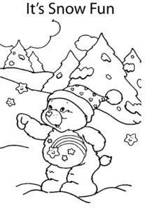 Care Bear Snow