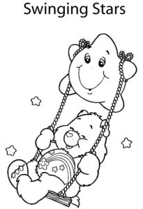 Care Bear Swinging Star