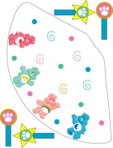 Care Bears Party Hat
