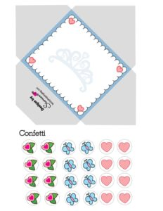 Cinderella Envelope Valentines