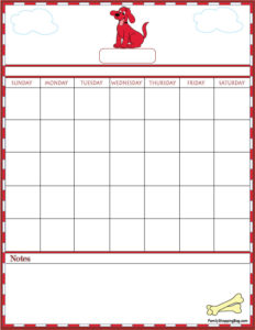 Clifford Calendar