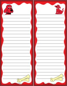 Clifford Grocery List