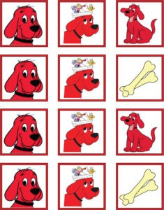 Clifford Stickers