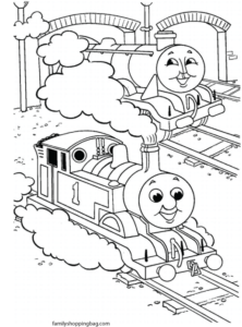 Thomas Tank Color Page