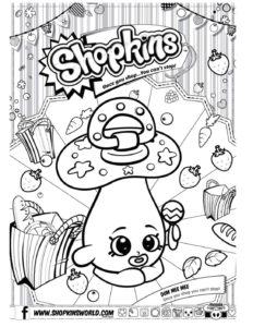 Shopkins Coloring Page 3