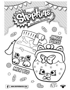 Shopkins Coloring Page 5