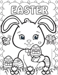 Coloring Page 2 Easter