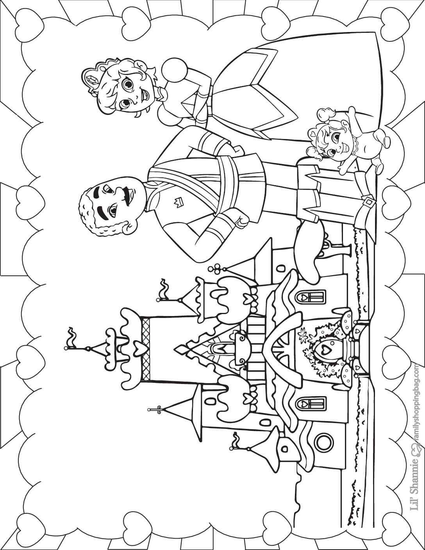 Coloring Page 2 Nella Knight