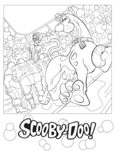 Coloring Page 2 Scooby Doo