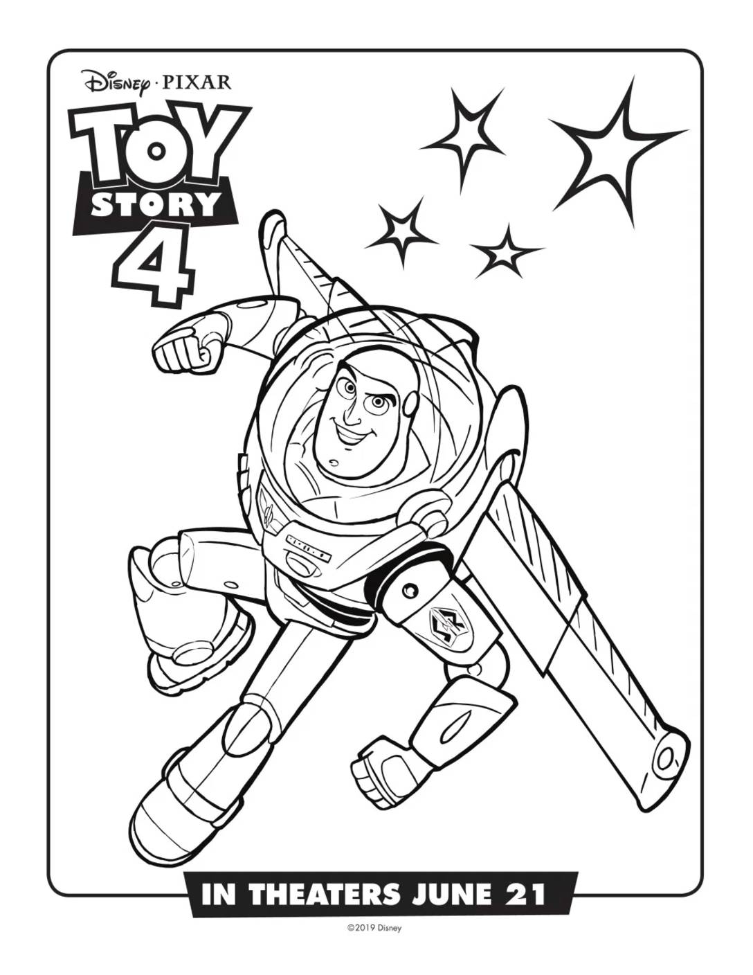 Coloring Page 2 Toy Story