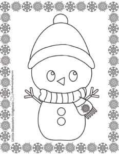 Coloring Page 3 Christmas