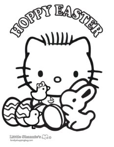 Coloring Page 3 Easter