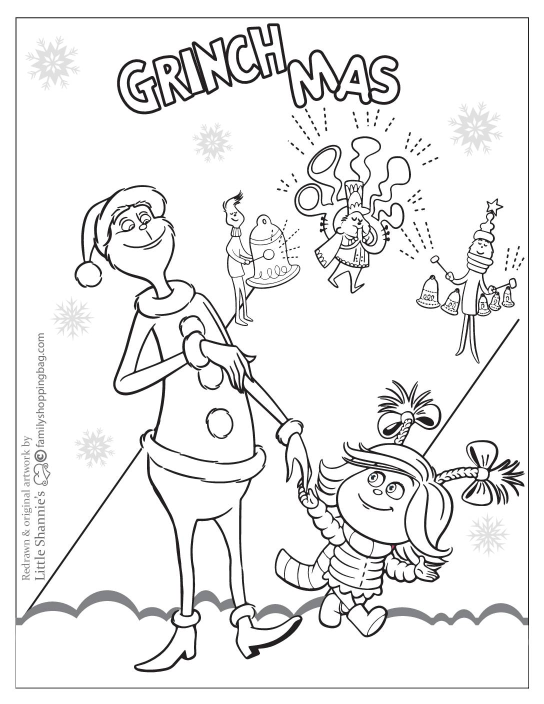 Coloring Page 3 Grinch