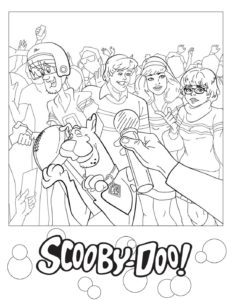 Coloring Page 3 Scooby Doo
