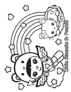 Coloring Page 3 Shannies