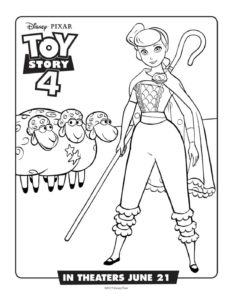 Coloring Page 3 Toy Story