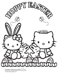 Coloring Page 4 Easter