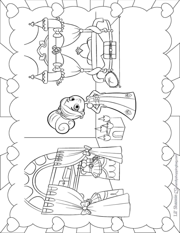 Coloring Page 4 Nella Knight