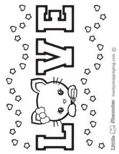 Coloring Page 4 Shannies
