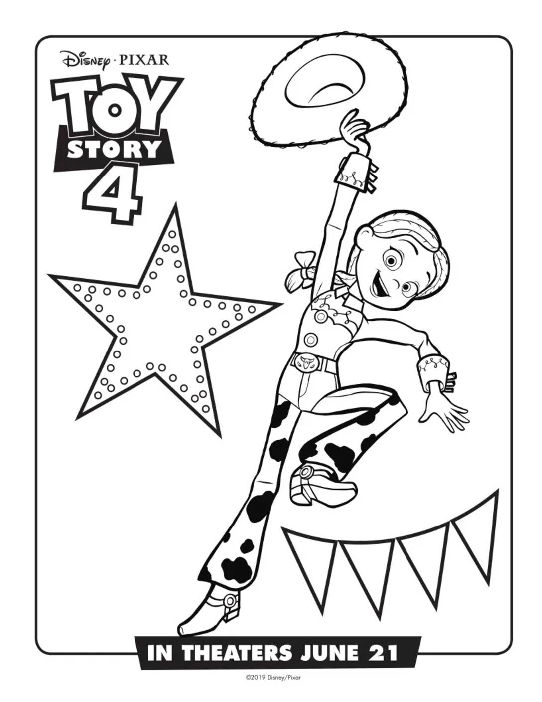 Coloring Page 4 Toy Story