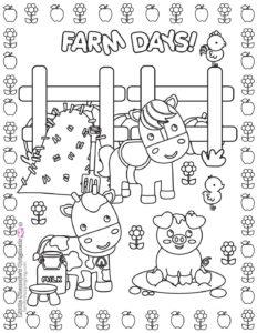 Coloring Page 5 Farm