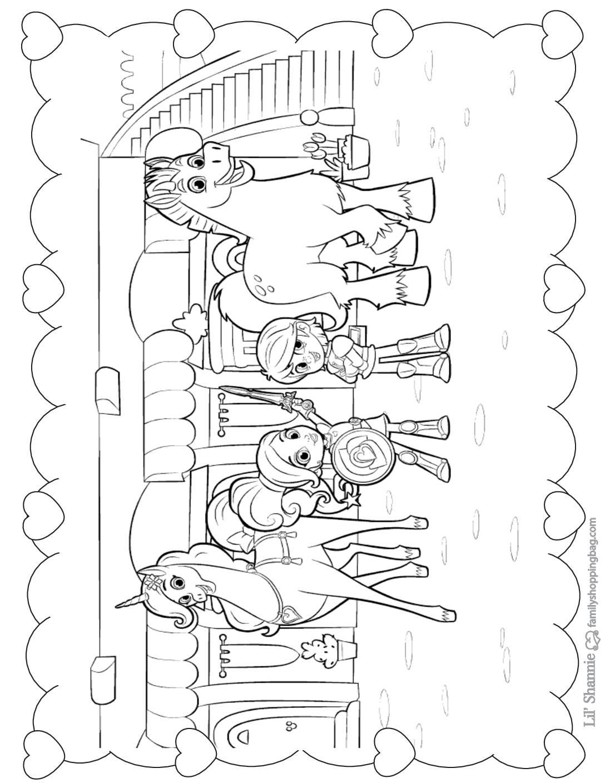 Coloring Page 5 Nella Knight