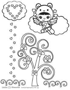 Coloring Page 5 Shannies