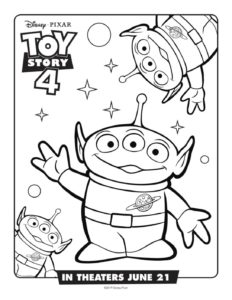 Coloring Page 5 Toy Story