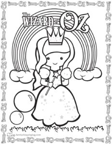 Coloring Page 5 Wizard of Oz