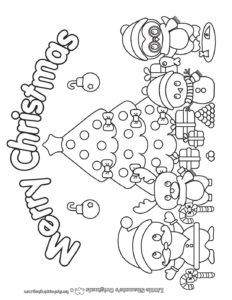 Coloring Page 6 Christmas