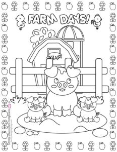 Coloring Page 6 Farm