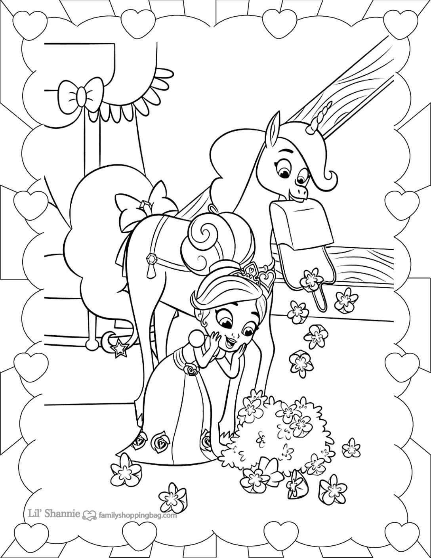 Coloring Page 6 Nella Knight